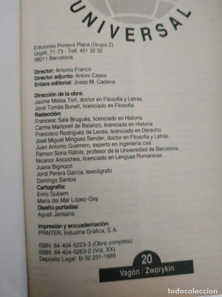 Enciclopedias de segunda mano: Enciclopedia universal EL PERIODICO. COMPLETA. (20 tomos) - Foto 2 - 203171355