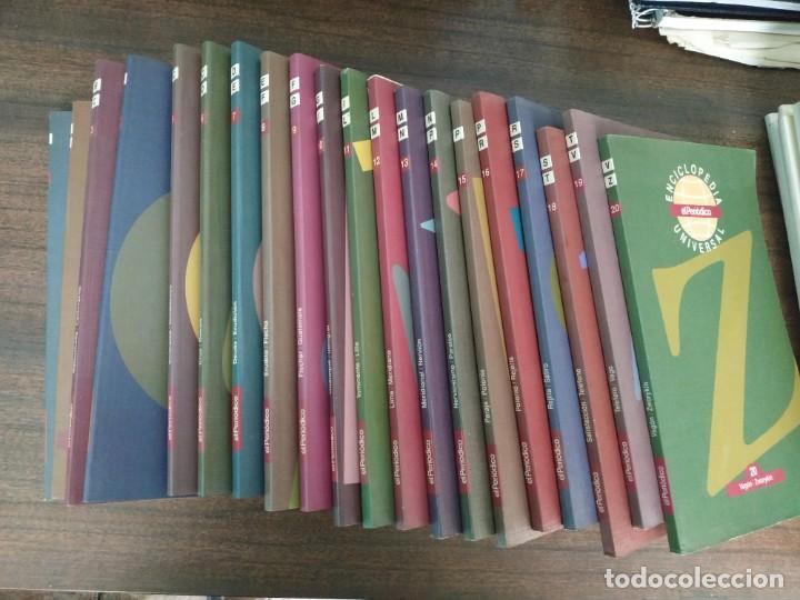 Enciclopedias de segunda mano: Enciclopedia universal EL PERIODICO. COMPLETA. (20 tomos) - Foto 3 - 203171355