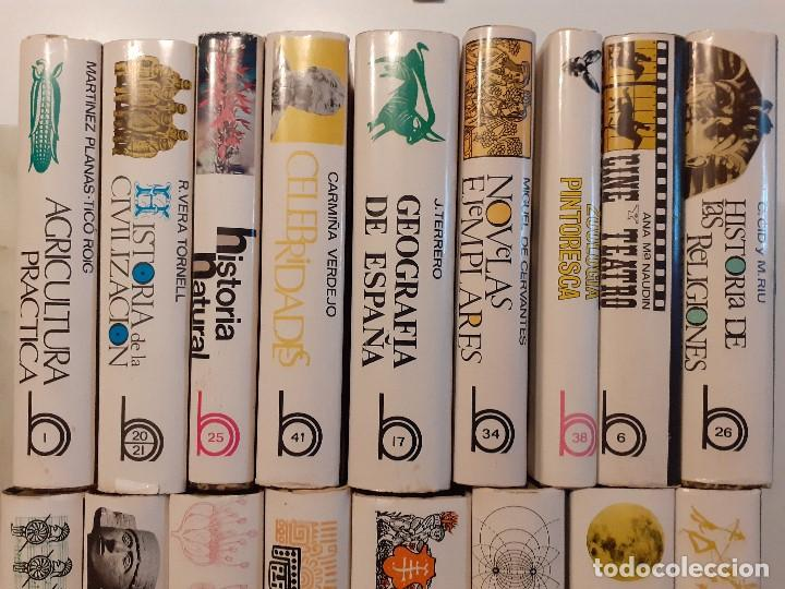Enciclopedias de segunda mano: LOTE 17 TOMOS BIBLIOTECA HISPÁNICA ILUSTRADA - AÑOS 60 - RAMÓN SOPENA - Foto 2 - 204070670
