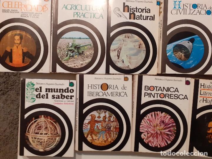 Enciclopedias de segunda mano: LOTE 17 TOMOS BIBLIOTECA HISPÁNICA ILUSTRADA - AÑOS 60 - RAMÓN SOPENA - Foto 8 - 204070670