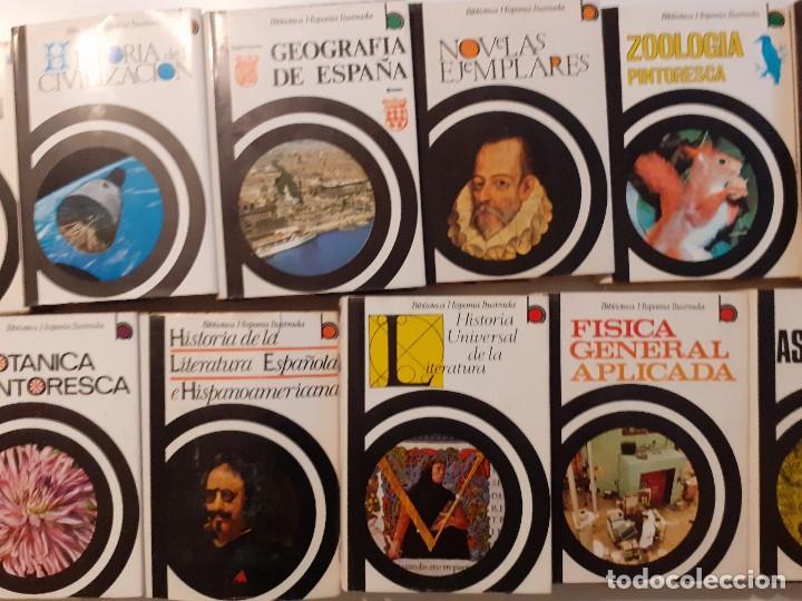 Enciclopedias de segunda mano: LOTE 17 TOMOS BIBLIOTECA HISPÁNICA ILUSTRADA - AÑOS 60 - RAMÓN SOPENA - Foto 9 - 204070670