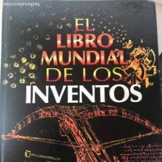 Enciclopedias de segunda mano: EL LIBRO MUNDIAL DE LOS INVENTOS. Lote 204203657