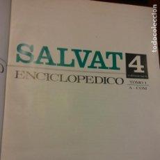 Livros em segunda mão: DICCIONARIO ENCICLOPEDICO. TOMO 1 A - COM. SALVAT EDITORES. Lote 204293358