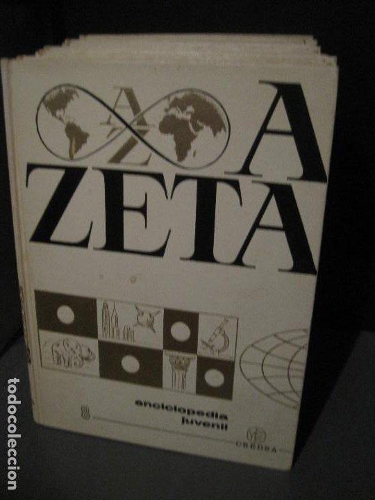 8 TOMOS (COMPLETA) ENCICLOPEDIA JUVENIL CREDSA 1970 (Libros de Segunda Mano - Enciclopedias)