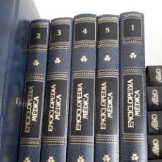 Enciclopedias de segunda mano: 5 TOMOS ENCICLOPEDIA MEDICA.LIBROS.. Lote 205272065