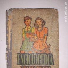 Enciclopedias de segunda mano: JOSE DALMAU CARLES/ ENCICLOPEDIA ,CICLO-PEDAGOGICA ,GRADO MEDIO-1951. Lote 205328598