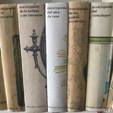 Enciclopedias de segunda mano: ENCICLOPEDIA MONTANER Y SIMON 5 VOL(DECORACION.BELLEZA Y BIENESTAR,AMA DE CASA,PADRES MODERNOS). Lote 205121900
