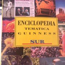 Enciclopedias de segunda mano: ENCICLOPEDIA TEMATICA GUINNESS. DIARIO SUR. BBV 1994.. Lote 205381236