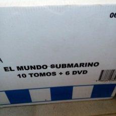 Enciclopedias de segunda mano: MUNDO SUBMARINO 10 TOMOS 6 DVD SIN DESEMBALAR. Lote 205816735