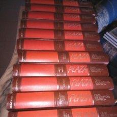 Enciclopedias de segunda mano: GRAN ENCICLOPEDIA TEMATICA PLAZA -- 12 TOMOS -- PLAZA & JANES 1988 --. Lote 205836913
