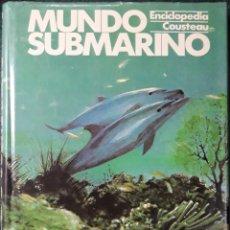 Enciclopedias de segunda mano: ENCICLOPEDIA N°5 COUSTEAU MUNDO SUBMARINO. Lote 205847307