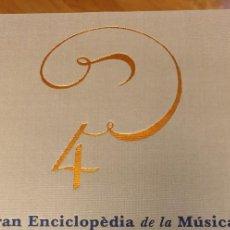 Enciclopedias de segunda mano: GRAN ENCICLOPEDIA DE LA MÚSICA. Lote 206492033