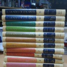 Enciclopedias de segunda mano: ENCICLOPEDIA EL MUNDO DE LOS NIÑOS .SALVAT .13 TOMOS. Lote 206522655