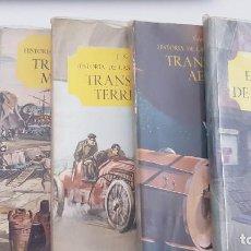 Enciclopedias de segunda mano: LOTE 5 LIBROS HISTORIA DE LAS COMUNICACIONES. SALVAT. AÑOS 60.. Lote 206557785