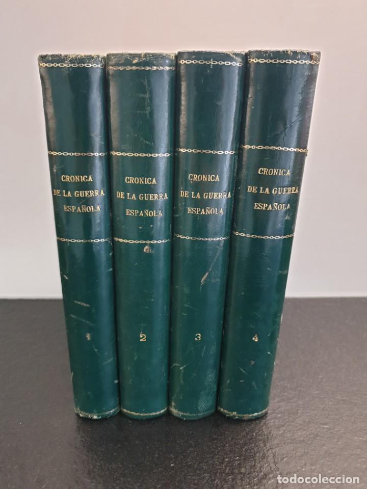 CRÓNICA DE LA GUERRA ESPAÑOLA 1966. FASCÍCULOS ENCUADERNADOS EN 4 TOMOS. COMPLETA. (ENVÍO 7,24€) (Libros de Segunda Mano - Enciclopedias)