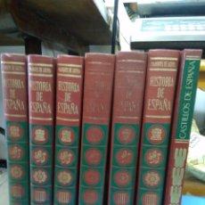 Enciclopedias de segunda mano: ENCICLOPEDIA HISTORIA DE ESPAÑA, MARQUÉS DE LOZOYA. (6 TOMOS Y CASTILLOS ESPAÑA).. Lote 207170937