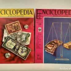 Enciclopedias de segunda mano: ENCICLOPEDIA ESTUDIANTIL. LOTE CON LOS NÚMEROS 204 Y 205.. Lote 207255452