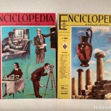Enciclopedias de segunda mano: ENCICLOPEDIA ESTUDIANTIL. LOTE CON LOS NÚMEROS 199 Y 200.. Lote 207255693