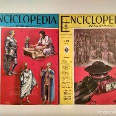 Enciclopedias de segunda mano: ENCICLOPEDIA ESTUDIANTIL. LOTE CON LOS NÚMEROS 197 Y 198. DISTRIBUIDORA EUROPEA DE PUBLICACIONES.. Lote 207255897