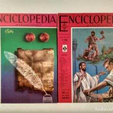 Enciclopedias de segunda mano: ENCICLOPEDIA ESTUDIANTIL. LOTE CON LOS NÚMEROS 195 Y 196. DISTRIBUIDORA EUROPEA DE PUBLICACIONES.. Lote 207256113