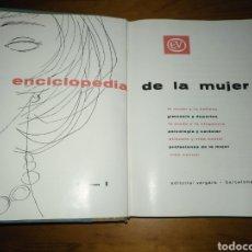Enciclopedias de segunda mano: LIBRO ILUSTRADO ENCICLOPEDIA DE LA MUJER VOLUMEN 1 SEXTA EDICIÓN. Lote 207426460