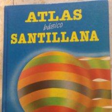Enciclopedias de segunda mano: ATLAS BÁSICO SANTILLANA 1986. Lote 207551746