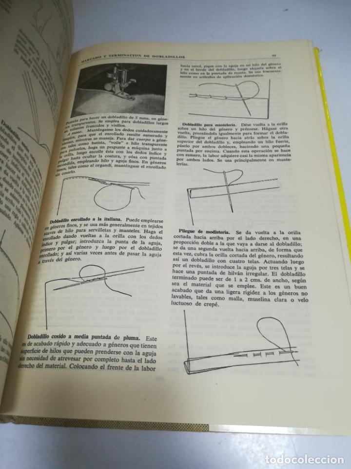 Enciclopedias de segunda mano: LIBRO SINGER DE COSTURA. MARY BROOKS PICKEN. ESPAÑOL. ILUSTRACIONES. VER FOTOS - Foto 9 - 207604112