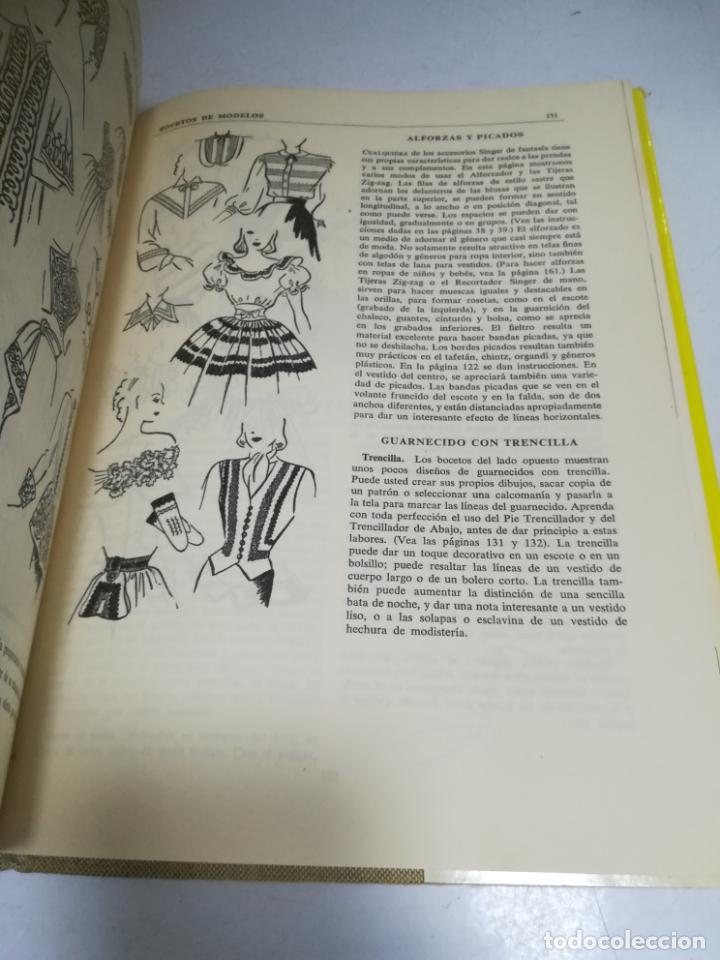 Enciclopedias de segunda mano: LIBRO SINGER DE COSTURA. MARY BROOKS PICKEN. ESPAÑOL. ILUSTRACIONES. VER FOTOS - Foto 11 - 207604112