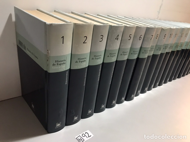 Enciclopedias de segunda mano: HISTORIA DE ESPAÑA - 20 TOMOS - Foto 2 - 207612530