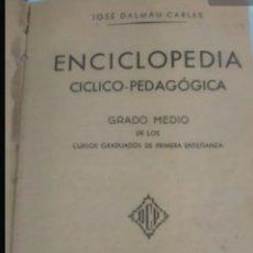 Enciclopedias de segunda mano: ENCICLOPEDIA DALMAU. Lote 207949326