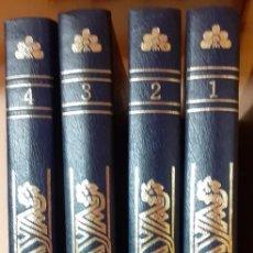 Enciclopedias de segunda mano: ENCICLOPEDIA HISTORICO GEOGRAFICA DE VIZCAYA-4 VOLUMENES-HARANBURU EDITOR. Lote 208078832