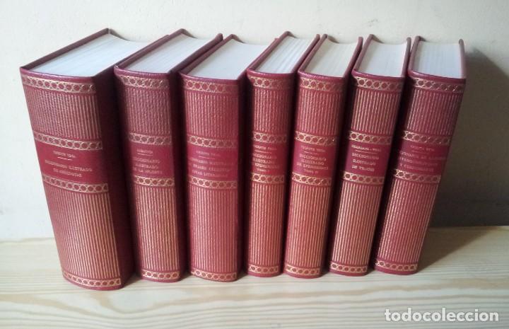 Enciclopedias de segunda mano: VICENTE VEGA - ENCICLOPEDIA DE LA AMENIDAD - DICCIONARIOS ILUSTRADOS EN 7 TOMOS - GUSTAVO GILI - Foto 12 - 208412270