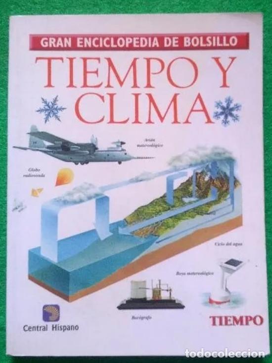 GRAN ENCICLOPEDIA DE BOLSILLO - TIEMPO Y CLIMA (Libros de Segunda Mano - Enciclopedias)