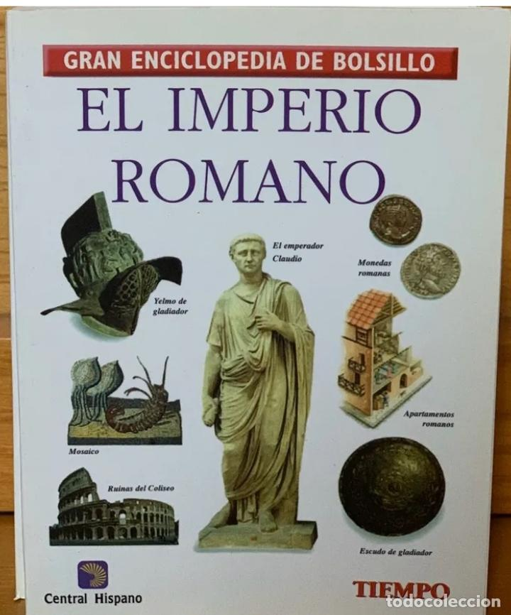 GRAN ENCICLOPEDIA DE BOLSILLO - EL IMPERIO ROMANO (Libros de Segunda Mano - Enciclopedias)