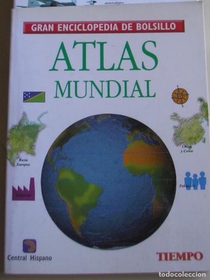 GRAN ENCICLOPEDIA DE BOLSILLO - ATLAS MUNDIAL (Libros de Segunda Mano - Enciclopedias)