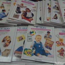 Enciclopedias de segunda mano: ENCICLOPEDIA O LOTE DE 35 LIBROS TU HIJO PLANETA DE AGOSTINI 1995. Lote 208764125