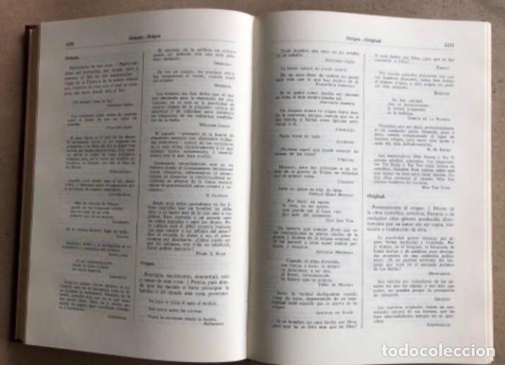 Enciclopedias de segunda mano: ENCICLOPEDIA DE FRASES GINER EN DOS TOMOS. EDICIONES GINER 1967. - Foto 13 - 208796511