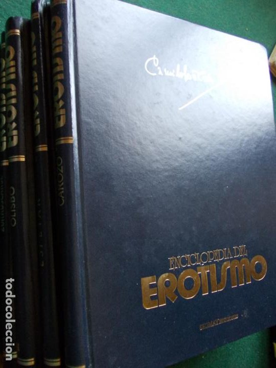 Enciclopedias de segunda mano: ENCICLOPEDIA DEL EROTISMO CAMILO JOSÉ CELA SEDMAY COMPLETA 4 TOMOS - Foto 3 - 208805500