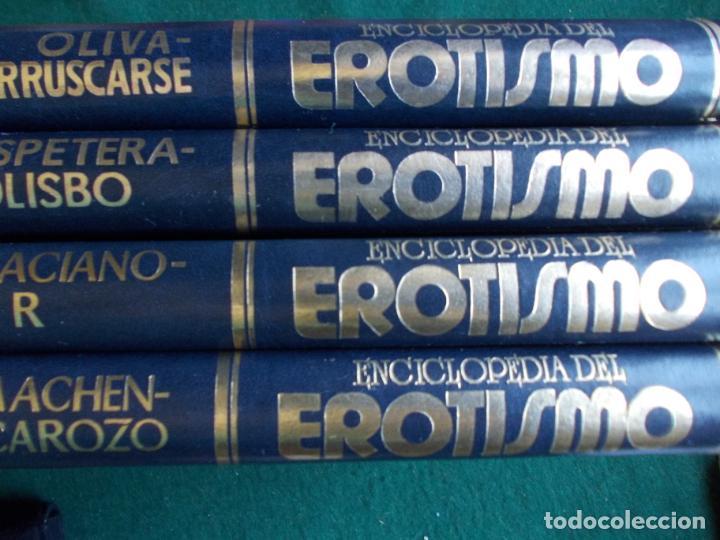 ENCICLOPEDIA DEL EROTISMO CAMILO JOSÉ CELA SEDMAY COMPLETA 4 TOMOS (Libros de Segunda Mano - Enciclopedias)