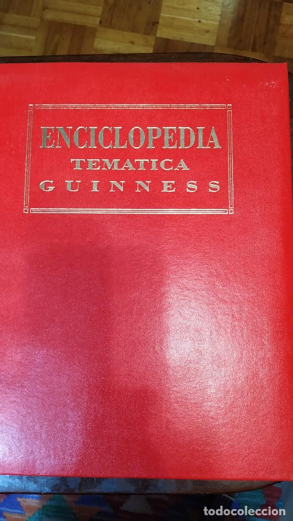 ENCICLOPEDIA TEMÁTICA GUINNESS (Libros de Segunda Mano - Enciclopedias)