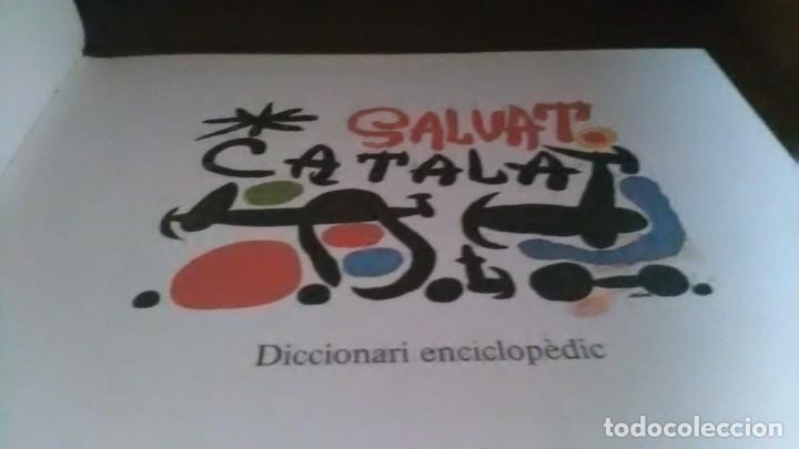 Enciclopedias de segunda mano: Diccionari enciclopedic, Salvat catala, 10 volums - Foto 2 - 208945358