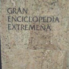 Enciclopedias de segunda mano: GRAN ENCICLOPEDIA DE EXTREMADURA. COMPLETA. 10 TOMOS. Lote 209009722