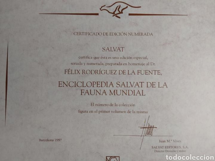 Enciclopedias de segunda mano: ENCICLOPEDIA SALVAT FAUNA MUNDIAL EDICIÓN NUMERADA . FÉLIX RODRÍGUEZ DE LA FUENTE - Foto 4 - 209200965