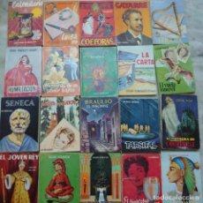 Enciclopedias de segunda mano: LOTE 20 MINI LIBRITOS ENCICLOPEDIA PULGA PRPM P.E. Lote 209977616