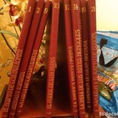 Enciclopedias de segunda mano: GRANDES IMPERIOS Y CIVILIZACIONES. EDITORIAL SARPE. 9 TOMOS. 1988.. Lote 210099270