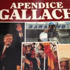 Enciclopedias de segunda mano: APÉNDICE GALLACH I LA TIERRA. Lote 210163252