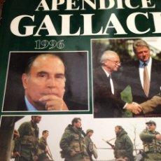Enciclopedias de segunda mano: APÉNDICE GALLACH 1996. Lote 210163333