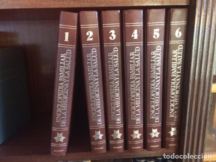 Enciclopedias de segunda mano: ENCICLOPEDIA FAMILIAR DE LA MEDICINA Y LA SALUD - SERVAGRUP - 6 TOMOS - Foto 2 - 210342841