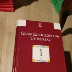 Enciclopedias de segunda mano: LIBRO GRAN ENCICLOPEDIA UNIVERSAL 30 TOMOS -BIBLIOTECA EL MUNDO- ESPASA 2004. Lote 231415090
