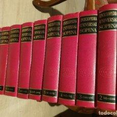Livros em segunda mão: LIBRO ENCICLOPEDIA UNIVERSAL SOPENA / 10 TOMOS, COMPLETA. AÑO 1974.. Lote 210349455